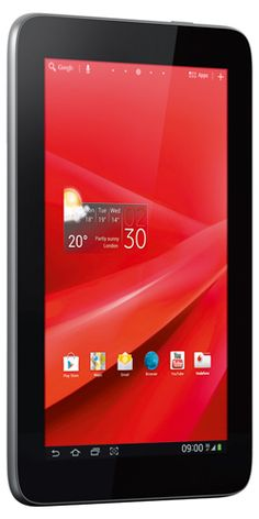 Cheapest 7 inch Multimedia Tablet with 3G connection, Vodafone Smart Tab II available in UK