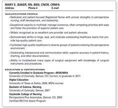 on pinterest registered nurse resume rn resume and cover letters
