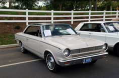 1965 Rambler American   This vehicle is a 1965 Rambler American 440 H. The 'H' does not ...