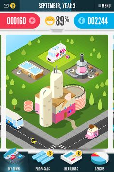 SCREENSHOT 5 - This is a project screen for an Ice Cream Factory. It shows the Ice Cream Factory after it has been approved by you, the player. Game Environment, Environment Concept Art, Kawaii Games, Mobiles For Kids, Game 2d, Boat Fashion, Game Interface, Blue Boat, Isometric Design