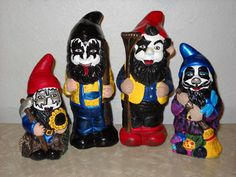 KISS Gnomes:You drive us wild, we'll drive you crazy.... - HOME SWEET HOME - Knitting, sewing, crochet, tutorials, children crafts, papercraft, jewlery, needlework, swaps, cooking and so much more on Craftster.org