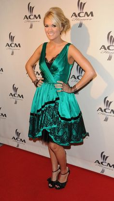 Carrie Underwood attends the Academy of Country Music 2nd Annual ACM Honors
