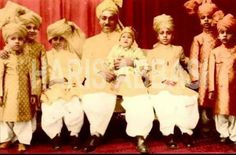 Nawab with his kids