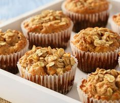Do you love quick and easy muffins made from scratch? I am sharing several recipes today that I have baked for years. Apple Cinnamon Muffins, Berry Muffins, Oat Muffins, Cinnamon Apples, Appel Muffins, Cinnamon Oatmeal, Healthy Muffin Recipes, Healthy Muffins, Healthy Sour Cream