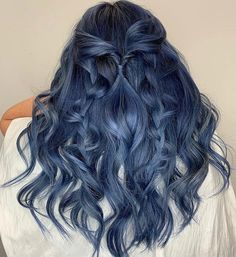 15 Best Available Colorful - Current Haircuts - HairstylesYou can find Blue hair and more on our Best Available Colorful . Hair Dye Colors, Cool Hair Color, Hairstyles Haircuts, Cool Hairstyles, Hairstyles Pictures, Hairstyle Ideas, Aesthetic Hair, Guy Tang, Dye My Hair