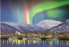 Image result for northern lights Tromso, Norway