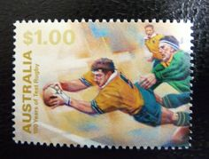 Australia Rugby, Rubber Raincoats, Stamp Collecting, Postage Stamps, Over The Years, Coins, About Me Blog, Baseball Cards, Sport