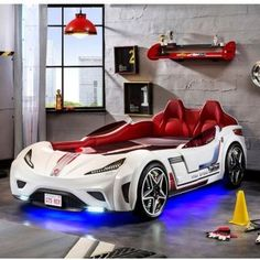 online shopping for Champion GTS Coupe Italia Twin Car Bed Cilek from top store. See new offer for Champion GTS Coupe Italia Twin Car Bed Cilek Twin Car Bed, Kids Car Bed, Childrens Car Bed, Car Bed Frame, Boy Room, Kids Room, Kids Bedroom Designs, Car Bedroom Ideas For Boys, Boys Car Bedroom