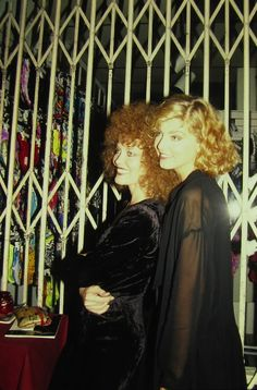 Grace Zabriskie and Sheryl Lee