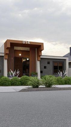 Village House Design, Bungalow House Design, Small House Design, Modern House Design, Villa Design, Facade Design, Exterior Design, Architecture Design, Modern Architecture House