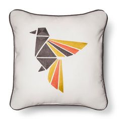 Origami Bird Throw Pillow - Room Essentials™ : Target