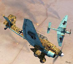 Junkers Ju-87 Stuka North Africa