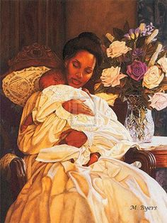 """Mother and child, Impressionist paintings and Mary cassatt on Pinterest www.pinterest.com338 × 450Buscar por imagen """"In Her Loving Arms I"""" Melinda Byers. I like this because it reminds me of Mary Cassatt's impressionist paintings of mother and child."""