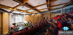 Kampus Wielicki Konferencja Sala Audytoryjna. Fotograf do obsługi konferencji, kongresów: Kraków, Wieliczka