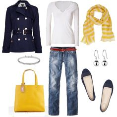 Love this look. Splendid is one of my fav brands. Plus, love the yellow. Get this look now.