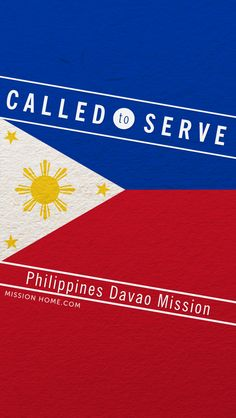 iPhone 5/4 Wallpaper. Called to Serve Philippines Davao Mission. Check MissionHome.com for more info about this mission. #Mission #Philippines #cellphone