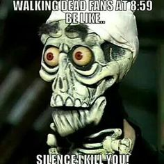 Walking Dead and Jeff Dunham humour Walking Dead Funny, Walking Dead Zombies, Fear The Walking Dead, Just Keep Walking, Twd Memes, Bae, Dead Inside, Snitch, Stuff And Thangs