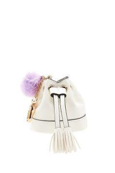 Le tout petit sac seau blanc de chez Forever 21