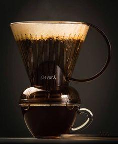 Share your experience using the #Clever  Props to @pacherphotography . . . . #pourover #regram#thirdwavecoffee#artisancoffee#coffeelove#artisan#truecoffee#espresso#coffeeshops#baristalove#barista#singleo#IGbest#coffeephoto