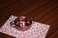 Make a miniature copper pan.