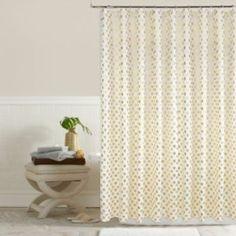 I love this!!!!Kohls:Colordrift Pixie Metallic Dots Shower Curtain