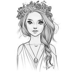 Простые картинки для срисовки - прикольные, красивые, классные 5