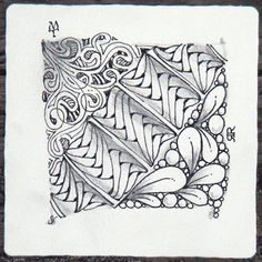Between Tangle (click through for how-to)