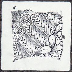 Zentangle Designs - great blog - tangles  - doodling idea #zentangle #tangles #doodling