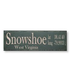 Weetamoe North... specify town and zip and LLBean will add the lat and long... super cool!