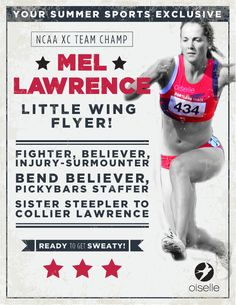 Mel Lawrence. Little Wing flyer. Injury surmounter. #Rule40 campaign approved.