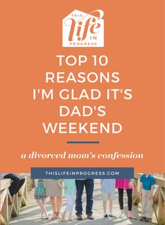 Divorce | Shared Custody | Top 10 | Mom Truth | Parenting Confession | Blended Family | Stepparent | Single Mom | Single Dad  via @lifeinprogress8