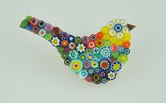 Millefiori - lily mosaics.  Will be at our Kelham Hall Christmas Market on November 28th and 29th
