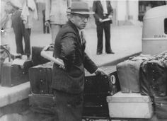Paraguay, July 1942, Carl Duball, the head of the Gestapo, leaving the country.