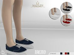 Madlen Tacito Shoes by MJ95 at TSR via Sims 4 Updates