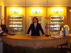 At the Grand Hotel in Cervia, Ravenna, Italy. Al Grand Hotel di Cervia, Italia.