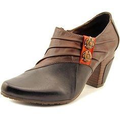 e73bf43ba L Artiste joella Women Pointed Toe Leather Black Bootie