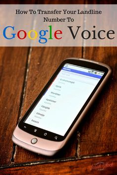 Transfer your Landline Number to Google Voice and save money WHLE KEEPING your landline number! from howipinchapenny.com Ways To Save Money, Money Saving Tips, Saving Ideas, Dash For Cash, Google Voice, Keyword Planner, Frugal Living Tips, Budgeting Tips, Virtual Assistant