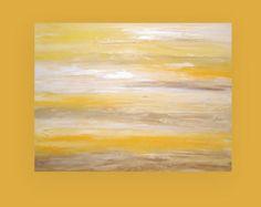 "Arte, pintura, pintura abstracta, Arte Original acrílico, arte pintura, acrílico sobre lienzo por Ora Birenbaum, gloria de mañana 30X40X1.5 6 """