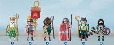 7. Poseidón 8. Legionario romano 9. Gladiador romano 10. Centurión romano 11. Druida celta 12. Soldado bárbaro