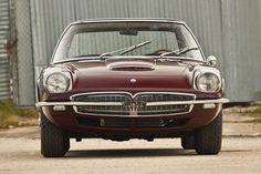 1967 Maserati Mexico Speciale by Frua