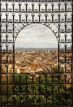 A beautiful Moroccan window from Fez The Places Youll Go, Places To See, Morocco Travel, Visit Morocco, North Africa, Costa, Belle Photo, Wonders Of The World, Moorish