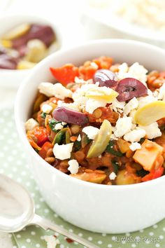 Lentil and Olive Stew