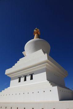 Buddhist Temple above Benalmadena, Spain