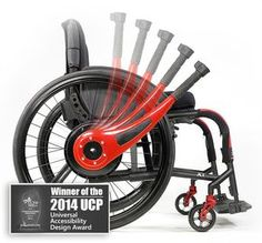 """""""Wijits are the fast, fun, easy-to-use lever-drive & braking system that replaces the wheels on your wheelchair and let you stop safer, turn sharper, climb higher, and go further than in a standard push-rim wheelchair; without sore shoulders, torn gloves or dirty hands"""""""