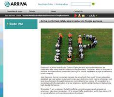 Arriva North East celebrates Investors in People status