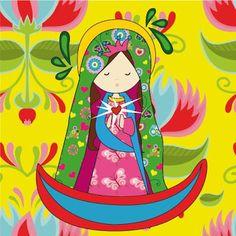 La Virgen De Guadalupe~Art by  AMORIS WEB