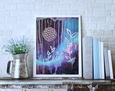 Sacred Geometry wall art #floweroflife #sacredgeometry #wallart #art #originalart #painting #boho #bohostyle #bohoart Original Artwork, Original Paintings, Sacred Geometry Art, Acrylic Painting Flowers, Bohemian Art, Flower Of Life, Abstract Paintings, Wall Art, Instagram