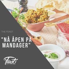 Fredrikstad, Mondays, Indian Food Recipes, Restaurant, Foods, Canning, Food Food, Food Items, Diner Restaurant