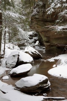 Old Man's Cave in Hocking Hills. We're open in the winter too! Come stay with us, come hike with us.