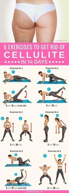 These exercises are great! Get rid of cellulite in 14 days! Regardless of how you do it, Just Do It! It's Fat and It's NOT safe for your health or your condifence. I have outlined 7 ways, 6 plus a bonus to help you get rid of the most unsightly and unheahty form of fat that robs you of your condifence and a beautiful body!